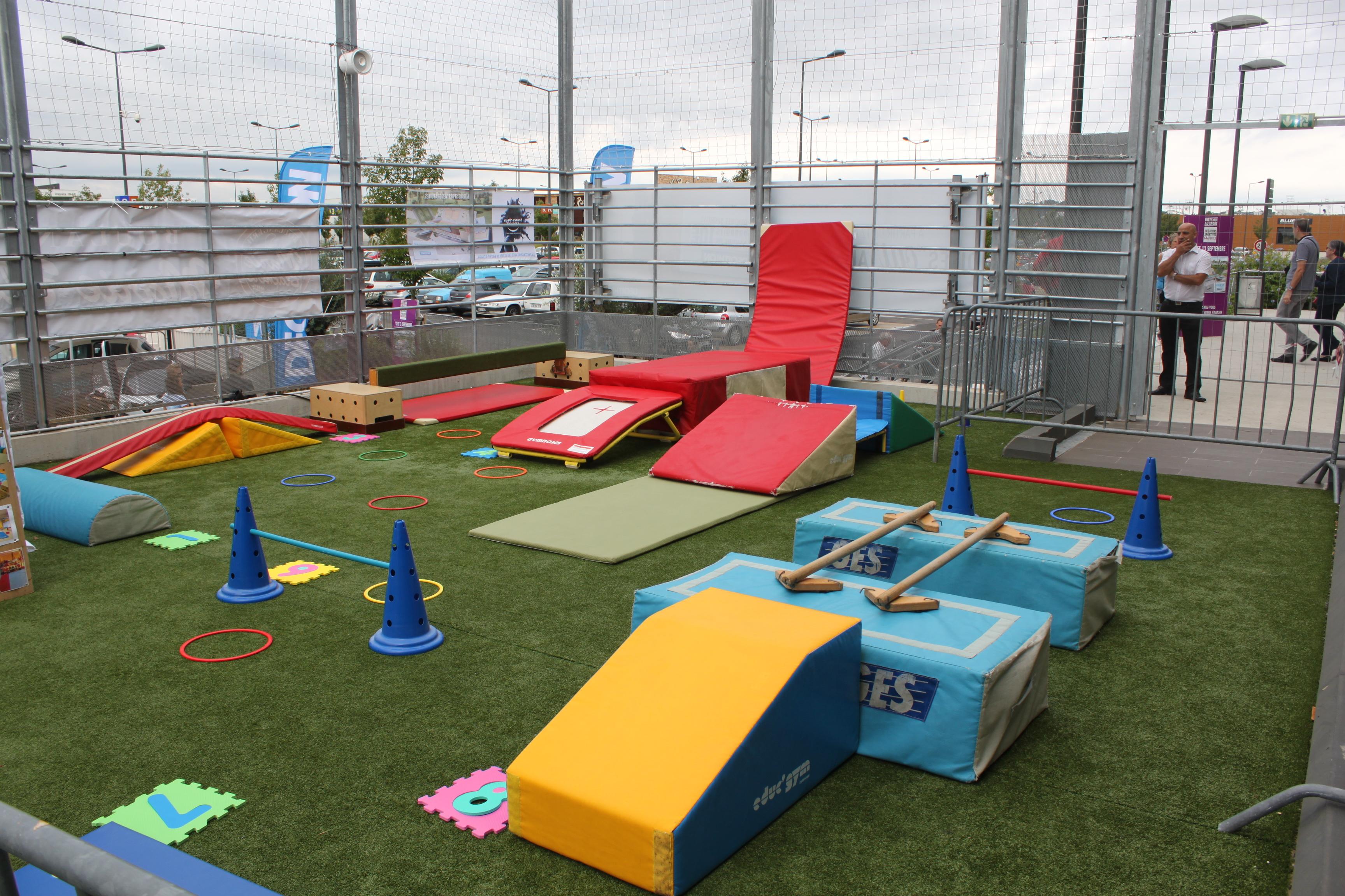 Vital Sport 2015 - Parcours Baby Gym - Les Allobroges Nîmois - Club ...
