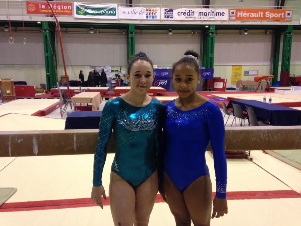 Hania et Axelle qualifiées pour le Championnat de France FFG