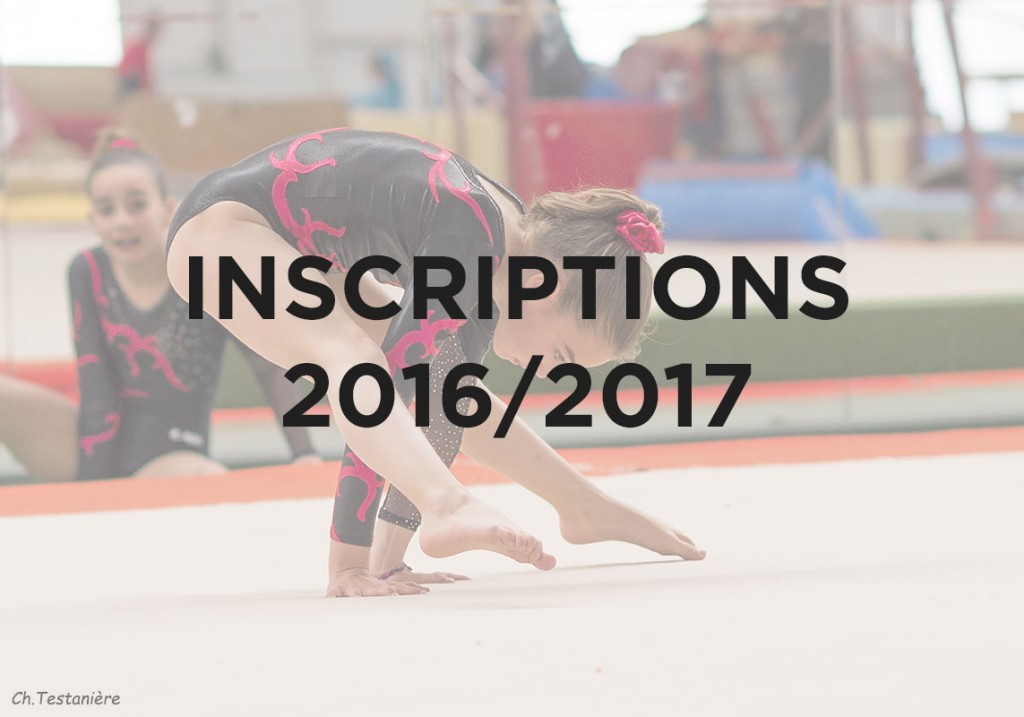 Inscriptions 2016/2017