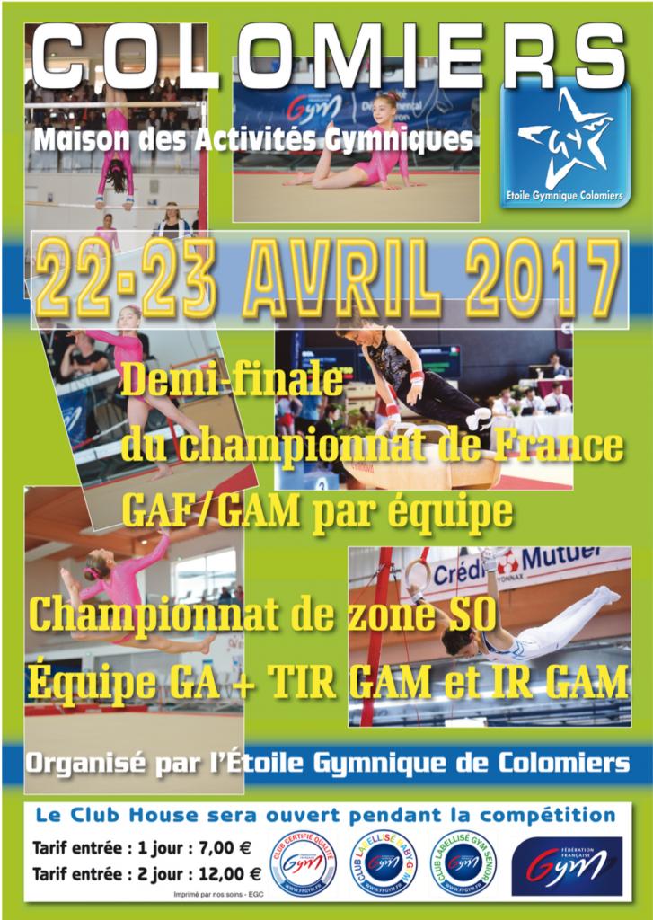 demi-finales des championnats de France par équipe