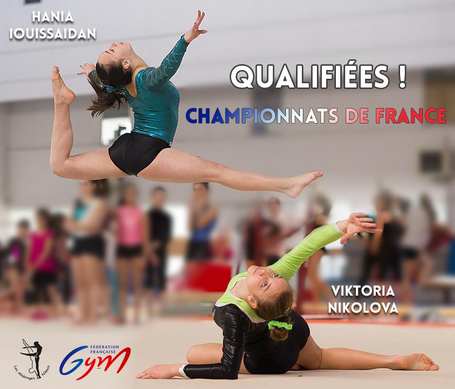 Hania et Viktoria qualifiées pour les Championnats de France